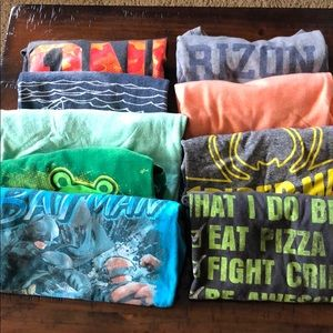 Other - Boys Assorted T-shirt lot size medium